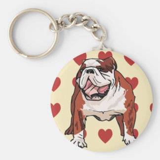 Keychain - Bulldog