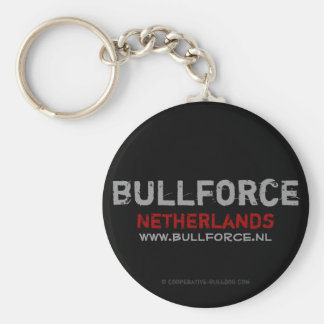 Keychain Bullforce Llavero Redondo Tipo Pin