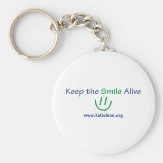 Keychain Button - Keep the Smile Alive