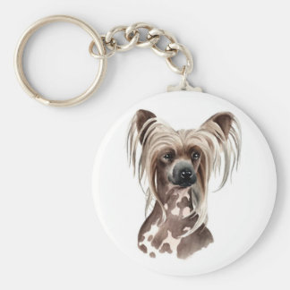 Keychain Chinese Crested