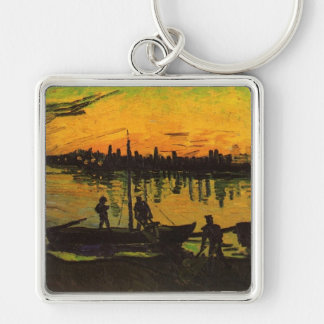 Keychain - Coal Barges
