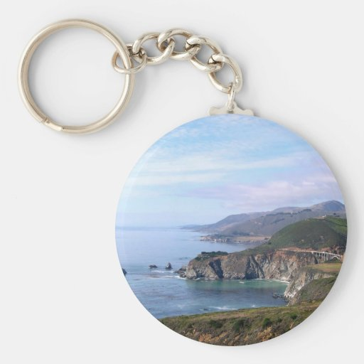 Keychain - Coastline near Big Sur