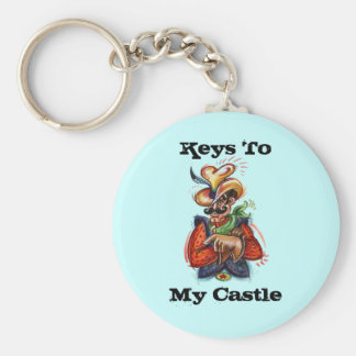 Keychain ~ Colorful Cowboy ~ Customize Personalize