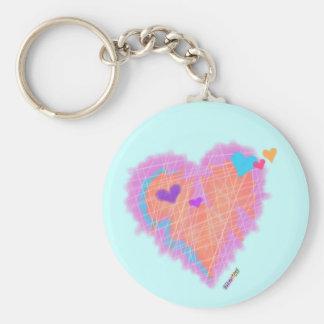 Keychain - Cross My Heart