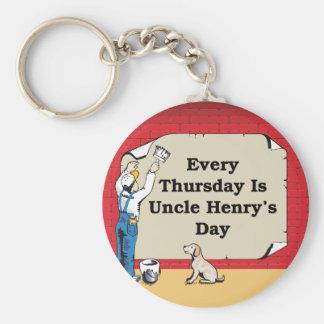 Keychain de tío Henry Llavero Personalizado