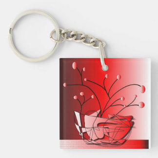 keychain double sided