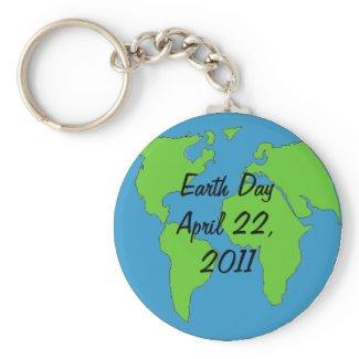 Keychain - Earth Day 2011 keychain
