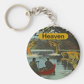 KEYCHAIN Fisherman's Heaven Fishing Exaggeration