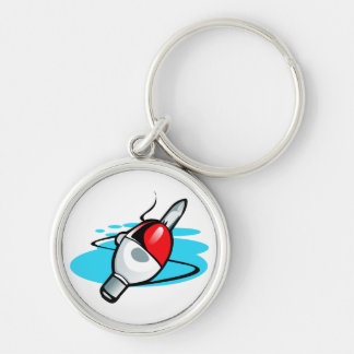 Keychain - Fishing Bob