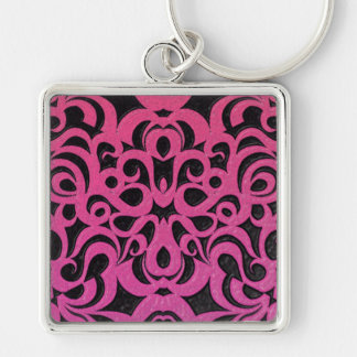 Keychain Floral abstract background