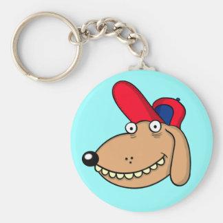 "KEYCHAIN ""funny dog"" cartoon"
