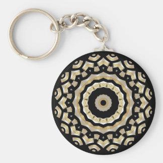Keychain Gold Black Pearl (B8C)