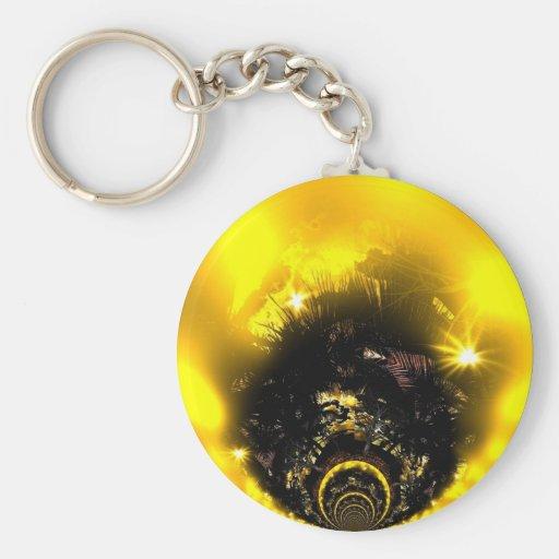 Keychain Golden Ball Keychain