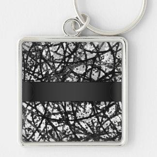 Keychain Grunge Art Abstract