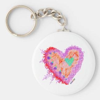 Keychain - Happy Heart