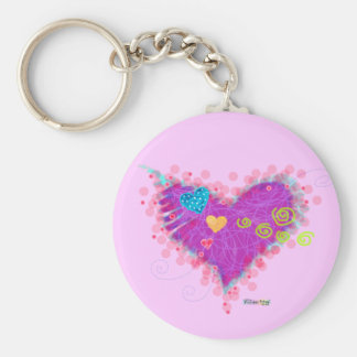 Keychain - HEARTS A FIRE!