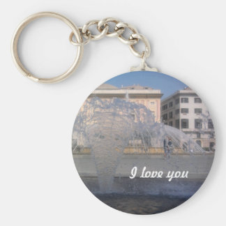 keychain - I love you
