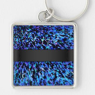 Keychain Informel Art Abstract
