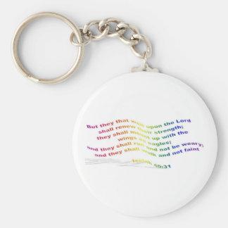 Keychain: Isaiah 40:31