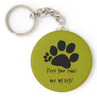 Keychain - Keep your paws off ...