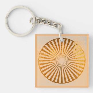 KEYCHAIN KEYCHAINS Golden Pure Energy Chakra