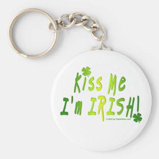 Keychain - Kiss Me, I'm IRISH