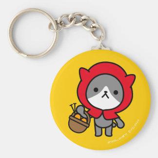 Keychain - Kitty - OrangeBack