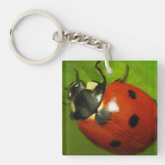 Keychain Lady Bug