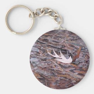 """Keychain """"Leaf Dry"""""""