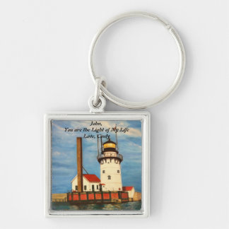 "Keychain - Lighthouse ""Light of My Life"""