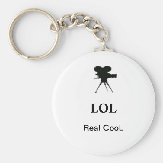 Keychain LOL Real CooL