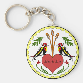 Keychain - Long, Happy Relationship Hex