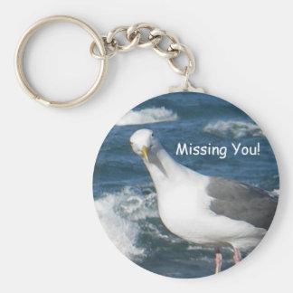 Keychain:  Looking Gull Keychain