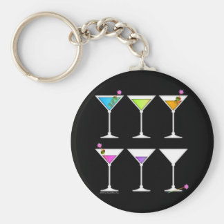 Keychain - Martinis Going, Going, GONE