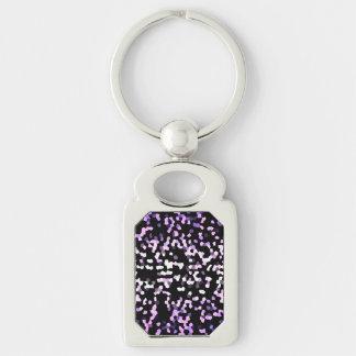 Keychain Mosaic Sparkley Texture