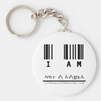 Keychain - Not a Label