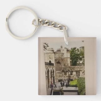 Keychain of a famous Window at the Tower of London