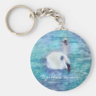 Keychain of Swans