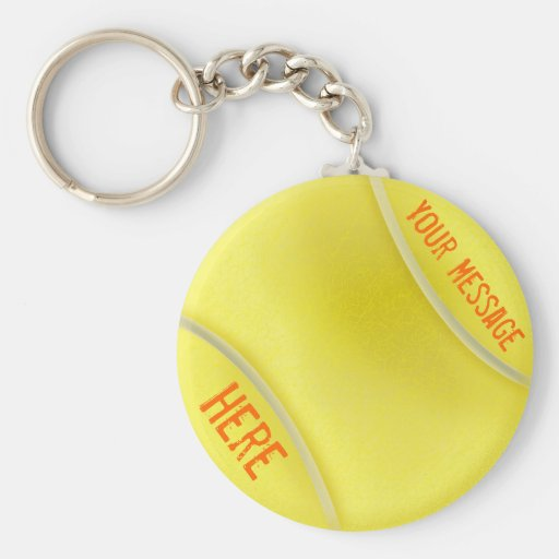 Keychain Personalized Tennis Gifts for Women Key Chain