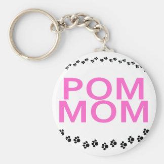 Keychain - Pom Mom