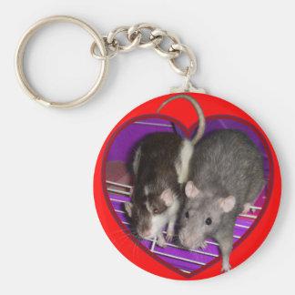 Keychain: Ratty Love Keychain