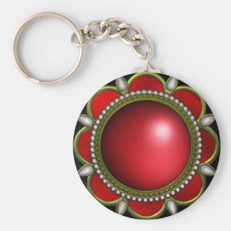 Keychain Red Jewel