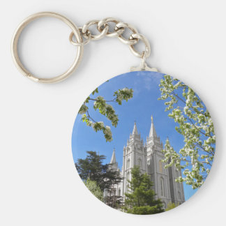Keychain Salt Lake Temple in Spring
