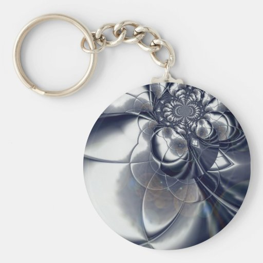 Keychain Silver Plate Keychain