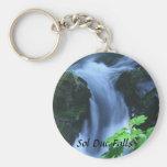Keychain: Sol Duc Falls Keychain