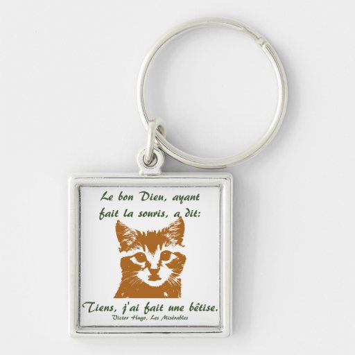 Keychain Square: Le Chat