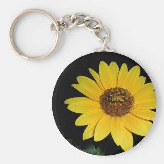 Keychain - Striking Sunflower