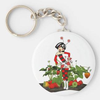 Keychain-Sweet Fairy Strawberry Dreams Keychain