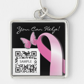 Keychain Template Breast Cancer