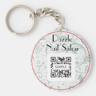 Keychain Template Dazzle Nail Salon